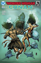 Image: Wonder Woman / Conan #2 - DC Comics