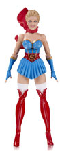 Image: DC Designer Series Action Figure: Bombshells Supergirl  - DC Comics
