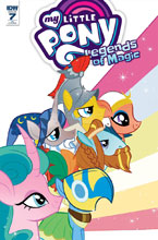 Image: My Little Pony: Legends of Magic #7 (incentive cover - Nicoletta Baldari) (10-copy) - IDW Publishing