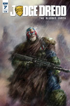 Image: Judge Dredd: Blessed Earth #7 (cover B - Percival) - IDW Publishing