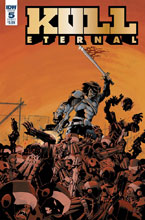 Image: Kull Eternal #5 (cover A - Pizzari) - IDW Publishing