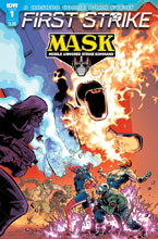 Image: M.A.S.K.: First Strike #1 (cover A - Johnson) - IDW Publishing