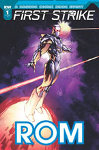 Image: Rom First Strike #1 (incentive cover - Humberto Ramos) (10-copy) - IDW Publishing