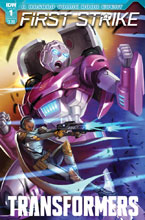 Image: Transformers: First Strike #1 (cover A - Pitre-Durocher) - IDW Publishing