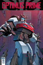 Image: Optimus Prime #12 (cover A - Zama) - IDW Publishing