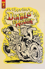 Image: Diablo House #3 (cover B - Dickinson) - IDW Publishing