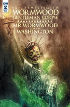 Image: Wormwood Goes to Washington #2 (cover B - Templesmith) - IDW Publishing