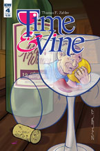 Image: Time & Vine #4 (cover A - Zahler) - IDW Publishing