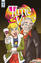 Image: Time & Vine #4 (cover B - Zahler) - IDW Publishing