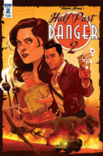 Image: Half Past Danger II: Dead to Reichs #2 (cover B - Byrne) - IDW Publishing