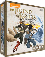 Image: Legend of Korra: Pro Bending Arena Game  - IDW Publishing