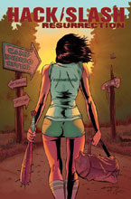 Image: Hack Slash Resurrection #1 (cover A - Seeley) - Image Comics