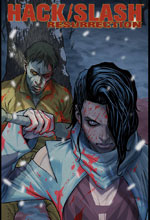 Image: Hack Slash Resurrection #1 (cover B - Caselli) - Image Comics