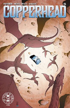 Image: Copperhead #15 (cover A - Godlewski & Riley) - Image Comics