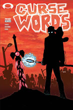 Image: Curse Words #9 (cover C - Walking Dead #6 Tribute)  [2017] - Image Comics