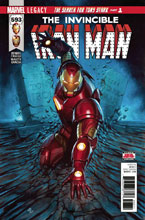 Image: Invincible Iron Man #593 (Legacy)  [2017] - Marvel Comics