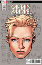Image: Mighty Captain Marvel #125 (Legacy) (variant cover - McKone Legacy Headshot) - Marvel Comics