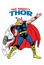 Image: Mighty Thor #700 (Legacy) (variant cover - Kirby 1965 T-Shirt)  [2017] - Marvel Comics