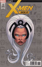 Image: X-Men Gold #13 (McKone Legacy Headshot variant cover - 01341) - Marvel Comics