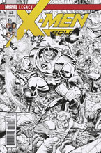 Image: X-Men Gold #13 (Art Adams b&w Connecting variant cover - 01361)  [2017] - Marvel Comics