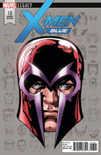 Image: X-Men Blue #13 (McKone Legacy Headshot variant cover - 01341) - Marvel Comics