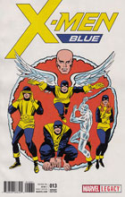 Image: X-Men Blue #13 (Kirby 1965 T-Shirt variant cover - 01331) - Marvel Comics
