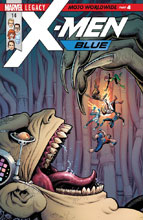 Image: X-Men Blue #14 (Legacy) - Marvel Comics