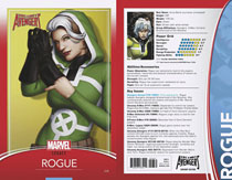 Image: Uncanny Avengers #28 (Legacy) (variant cover - Christopher Trading Card) - Marvel Comics