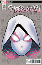 Image: Spider-Gwen #25 (Legacy) (variant cover - McKone Legacy Headshot)  [2017] - Marvel Comics