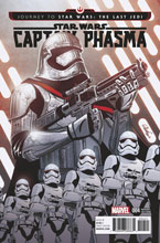 Image: Journey to Star Wars Last Jedi Capt Phasma #4 (variant cover - Charretier) - Marvel Comics
