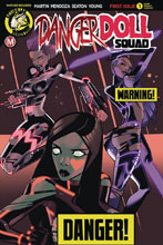 Image: Danger Doll Squad #1 (cover B - Celor Risque) - Action Lab - Danger Zone