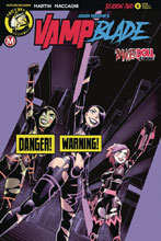 Image: Vampblade: Season Two #8 (cover B - Winston Young Risque) - Action Lab - Danger Zone
