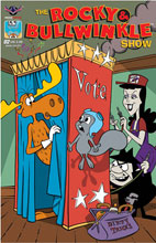 Image: Rocky & Bullwinkle Show #2 (Main cover - Gallant)  [2017] - American Mythology Productions