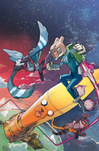 Image: Adventure Time / Regular Show #3 (subscription cover - Nguyen) - Boom! Studios