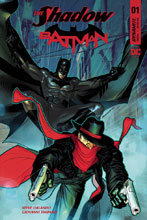Image: The Shadow / Batman #1 (cover E - Peterson) - Dynamite