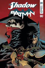 Image: The Shadow / Batman #1 (cover H Subscription - Timpano) - Dynamite