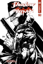 Image: The Shadow / Batman #1 (Van Sciver signed edition) - Dynamite