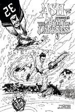 Image: Ash vs. the Army of Darkness #4 (cover D incentive - Vargas B&W ) (10 Copy) - Dynamite