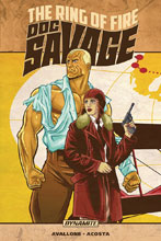 Image: Doc Savage: Ring of Fire SC  - Dynamite