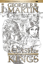 Image: George R. R. Martin's A Clash of Kings #5 (cover D incentive - Rubi) (15 Copy) - Dynamite