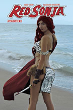 Image: Red Sonja #10 (cover D - Cosplay) - Dynamite