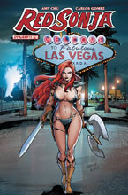 Image: Red Sonja #10 (cover E subscription - Gomez) - Dynamite