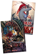 Image: Red Sonja Trading Cards Preview Set  - Dynamite