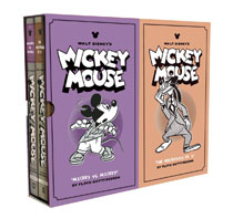 Image: Disney Mickey Mouse Box Set  (Vol. 11 & 12) HC - Fantagraphics Books