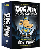 Image: Dog Man Epic Collection Boxed Set #1 - Graphix