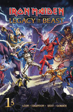 Image: Iron Maiden: Legacy of the Beast #1 (cover C - Casas) - Heavy Metal Magazine