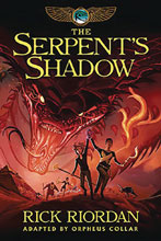 Image: Kane Chronicles Book 03: Serpent's Shadow GN HC  - Hyperion Books