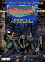 Image: Dungeon Monstres Vol. 04: Night of the Ladykiller GN  - NBM