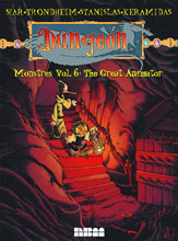 Image: Dungeon Monstres Vol. 06: Great Animator GN  - NBM