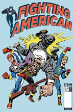 Image: Fighting American #1 (cover C - Kirby) - Titan Comics
